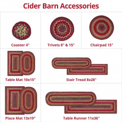 Cider Barn  Blue Jute Accessories