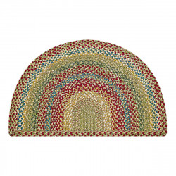 Azalea Half Moon Jute Braided Rugs