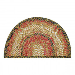 Russet Half Moon Jute Braided Rugs