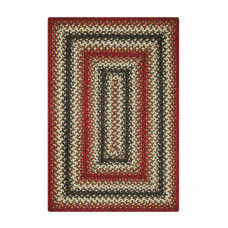 Chester Red Brown - Natural Jute Braided Rugs