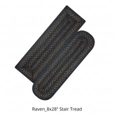 Raven Jute Stair Tread or Table Runner
