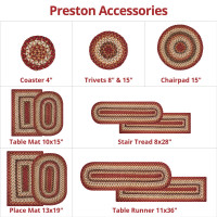 Preston Multi Color Ultra Wool Braided Accessories