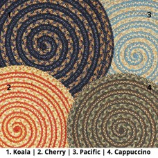 Ultra Durable Swirl Braided Rugs