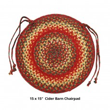 "15"" Cider Barn Chair Pad Jute"
