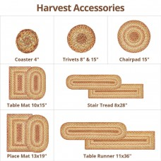 Harvest Beige Jute Accessories