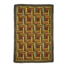 Match Stic Pattern Hooked Rugs