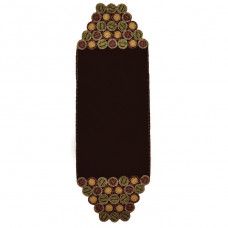 "13"" X 40"" Dakota Brown Table Runner"