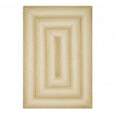 Sand Dune Cream - Tan Ultra Wool Braided Rugs