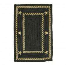 Texas Black Jute Braided Rugs