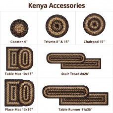 Kenya Jute Braided Accessories