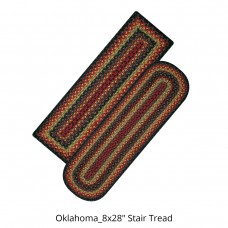 Oklahoma Jute Stair Tread or Table Runner