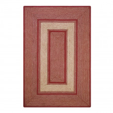 York Red Jute Braided Rugs