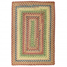 Venetian Glass Red Ultra Durable Braided Rugs