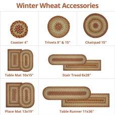 Winter Wheat Ultra Wool Braided Accessories