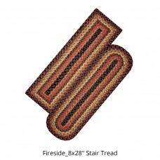 Fireside Jute Stair Tread or Table Runner