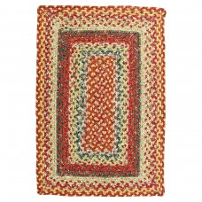 Four In Nine Patch Cotton Braided Rugs