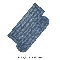 Denim Jute Stair Tread or Table Runner