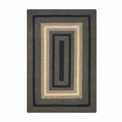 Blacksmith Black - Natural Ultra Wool Braided Rugs