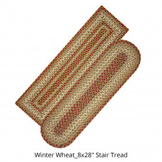 Winter Wheat Ultra Wool Stair Tread Or Table Runner
