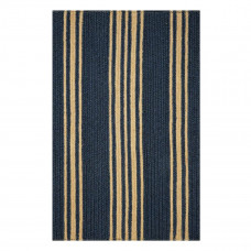 Clark Farmhouse Navy Jute Braided Rugs