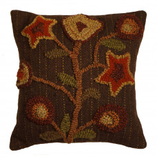 "12 x 12"" Stargazer Brown Pillows"