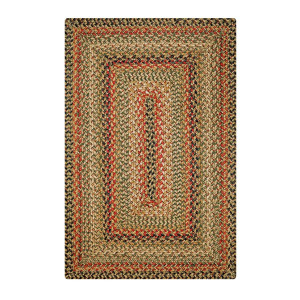 Kingston  Multi Color Jute Braided Rugs