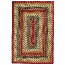 Preston Multi Color Ultra Wool Braided Rugs