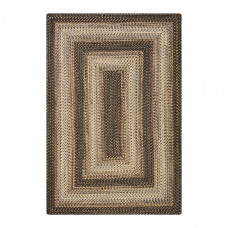 Wildwood Brown Ultra Durable Braided Rugs