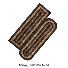Kenya Jute Stair Tread or Table Runner
