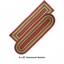 Vancouver Jute Stair Tread or Table Runner
