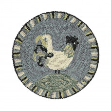"15"" Rooster Blues Chairpad"