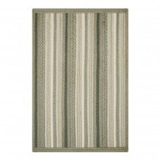 Portsmouth Stripe Grey Ultra Wool Braided Rugs
