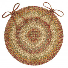 "15"" Harvest Chair Pad Round Jute"
