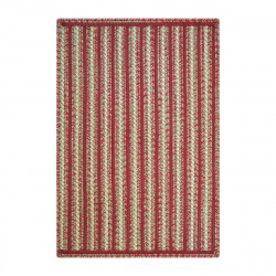 Kent Avenue Red - Beige Ultra Durable Braided Rugs