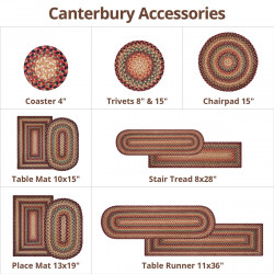 Canterbury Gold Ultra Wool Braided Accessories