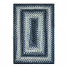 Juniper Blue Ultra Durable Braided Rugs