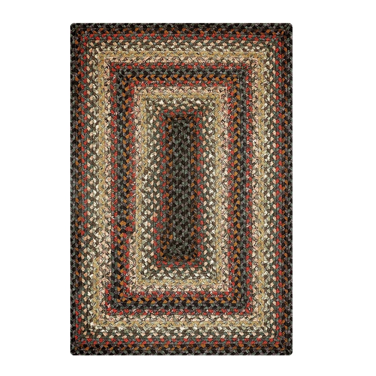 Braided Rug For Living Room: Enigma Cotton Braided Rugs