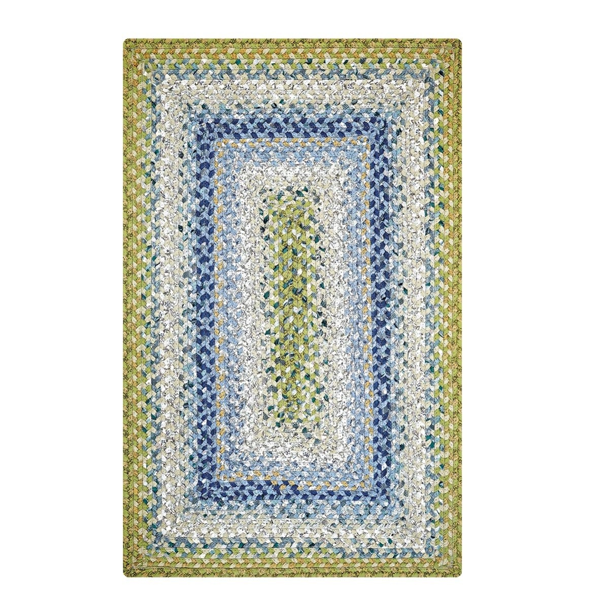 Braided Rug For Living Room: Seascape Cotton Braided Rugs
