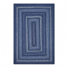 Indigo Blue Ultra Wool Braided Rugs