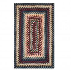 Artemis Blue Jute Braided Rugs