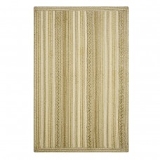 Portsmouth Stripe Oatmeal Ultra Wool Braided Rugs