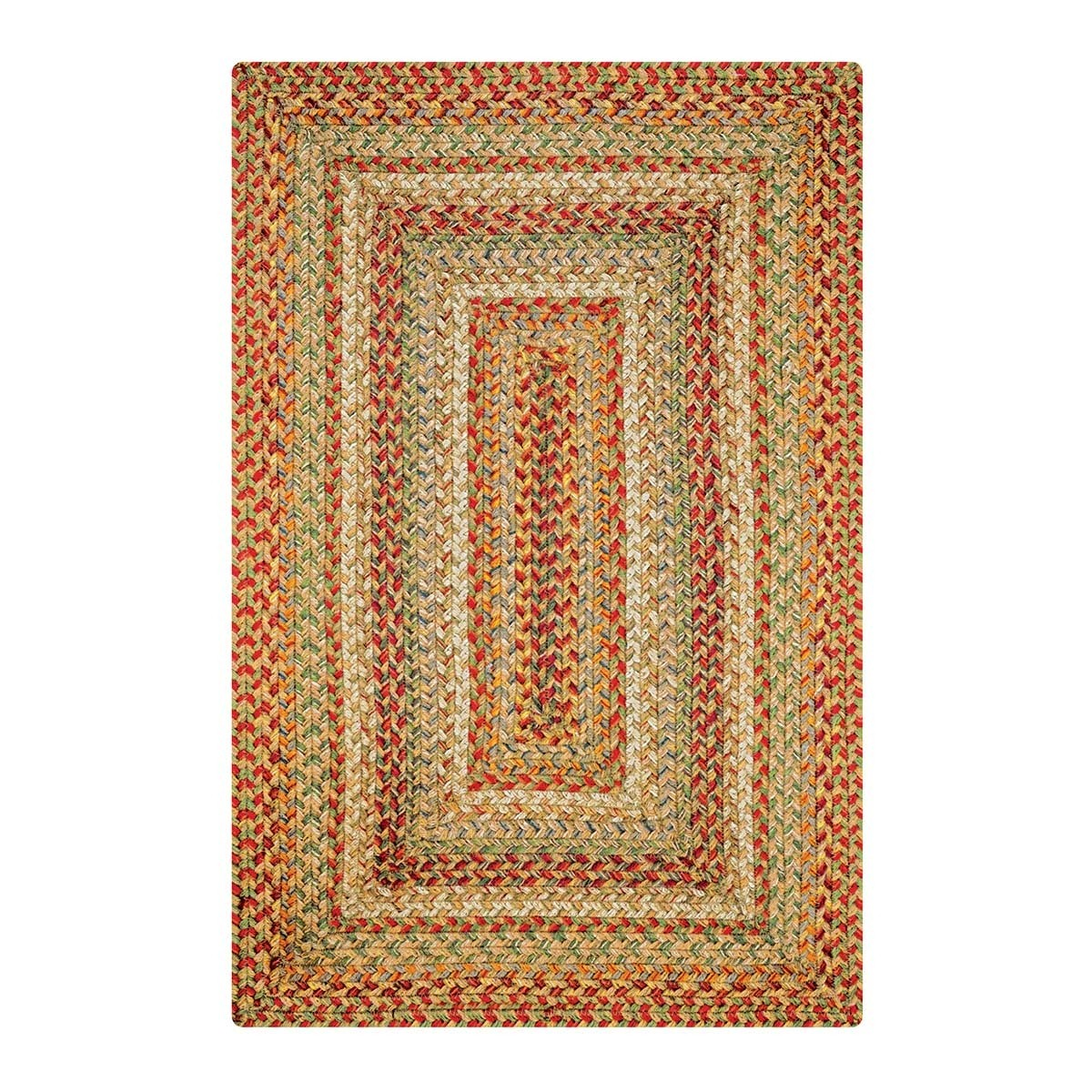 Buy Harvest Beige Jute Braided Rugs Online Homespice