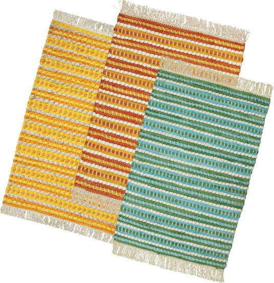 Stripe Summer Rugs