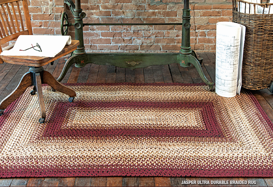 jasper outdoor braided rug