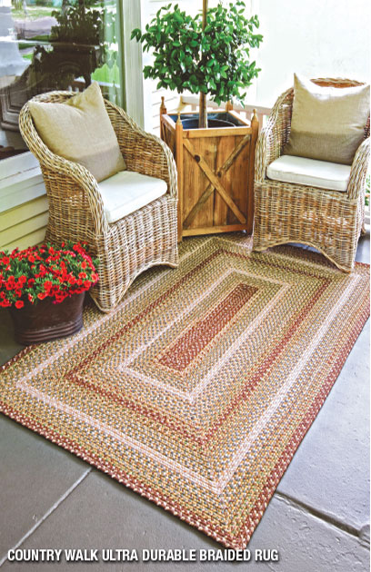 country-walk outdoor braided rugs