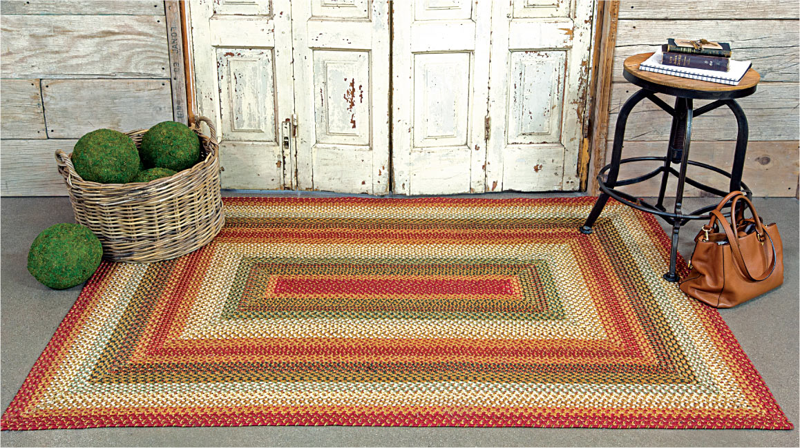 Preston jute braided rug