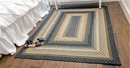 Chapel hill jute braided rug