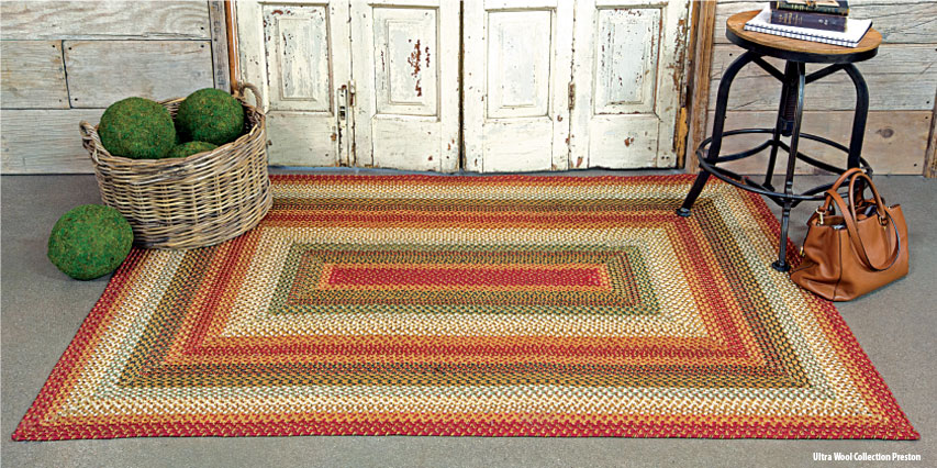 preston wool braided rugs
