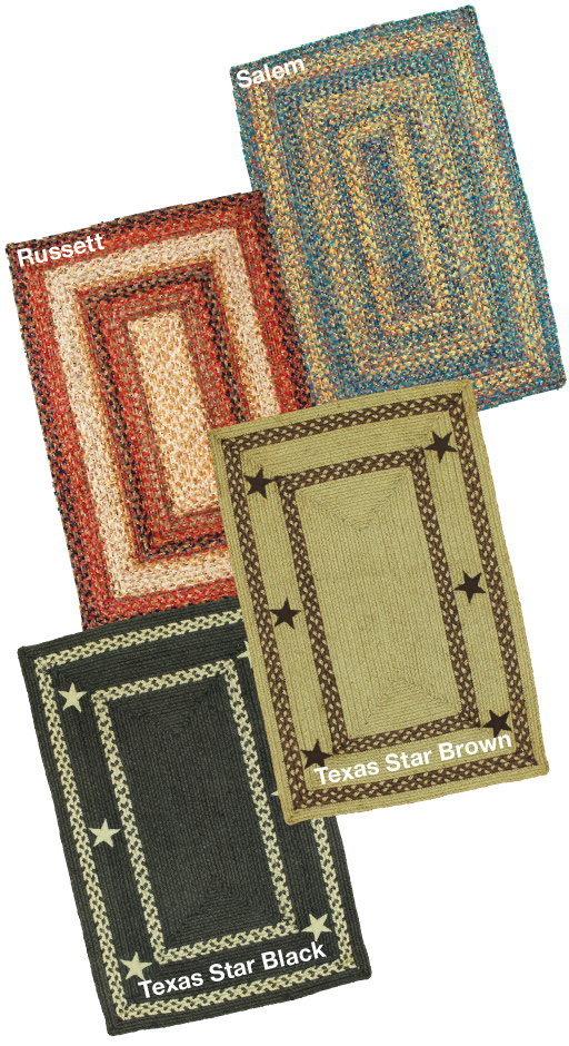 Primitive Jute Braided Rugs
