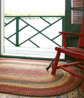 Budapest Wool Braid Rugs